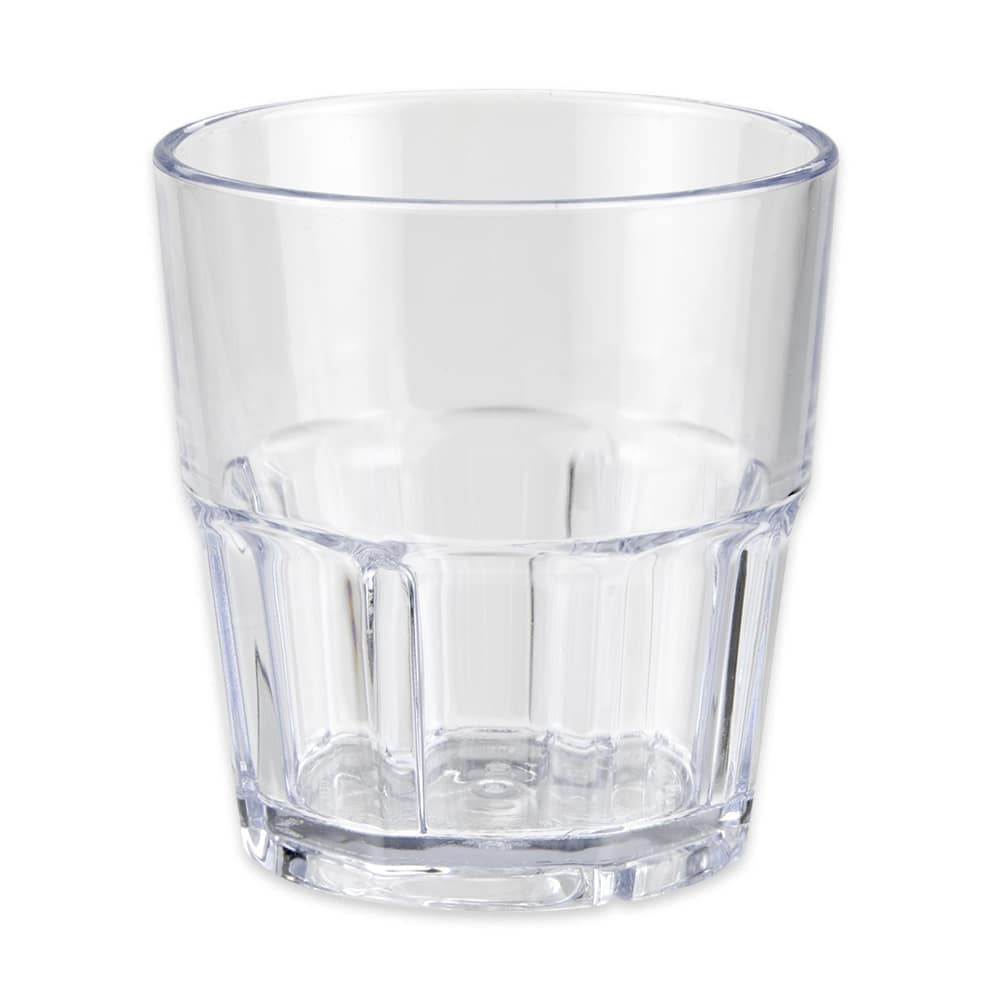 GET 9909-1-CL 9-oz Rocks Tumbler, Plastic, Clear