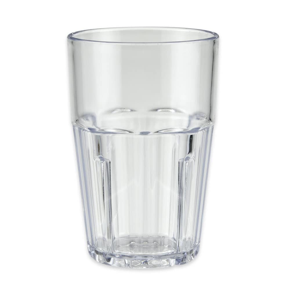 GET 9910-1-CL 10-oz Rocks Tumbler, Plastic, Clear