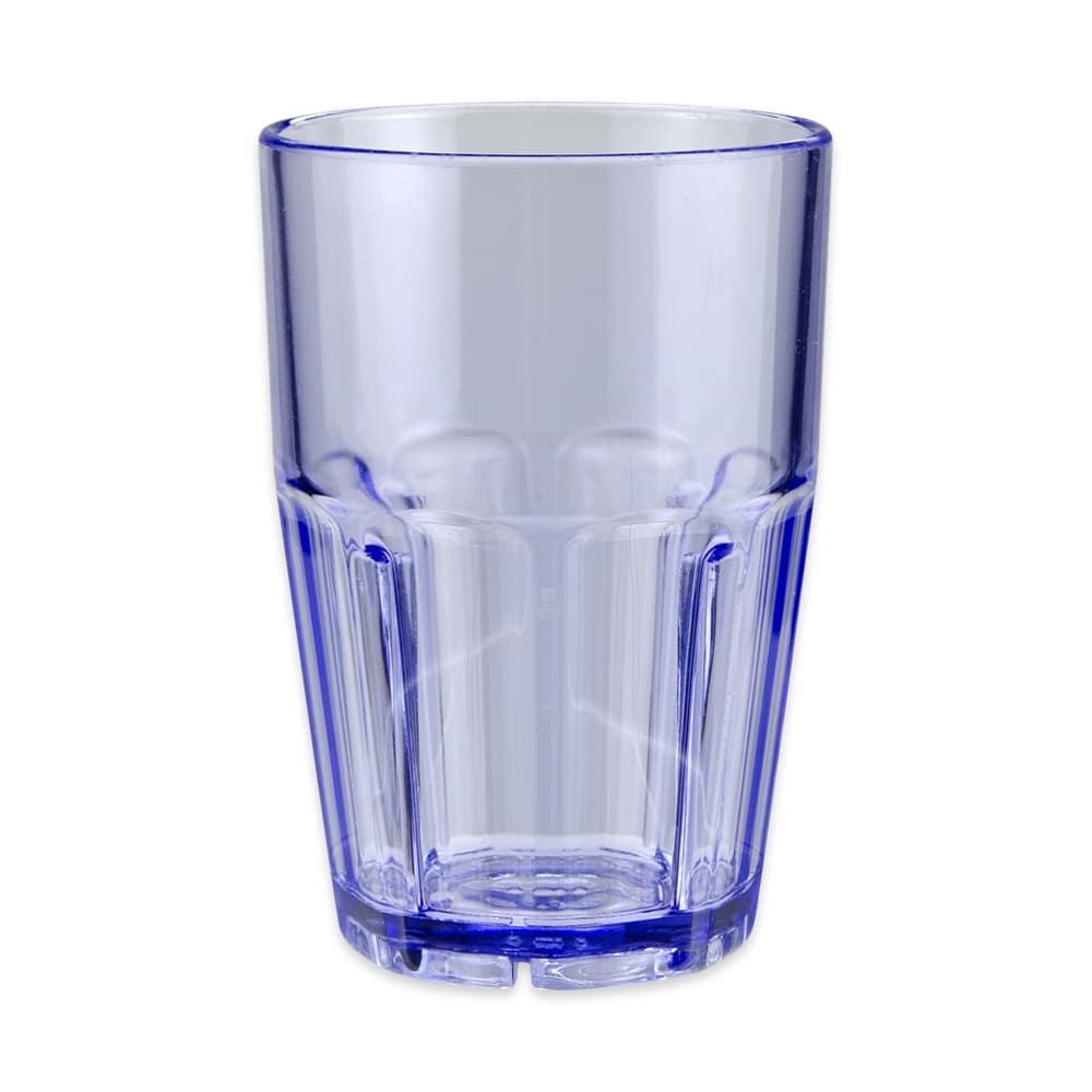 GET 9914-1-BL 14-oz Rocks Tumbler, Plastic, Blue