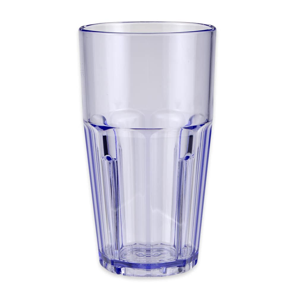 GET 9916-1-BL 16-oz Beverage Tumbler, Plastic, Blue