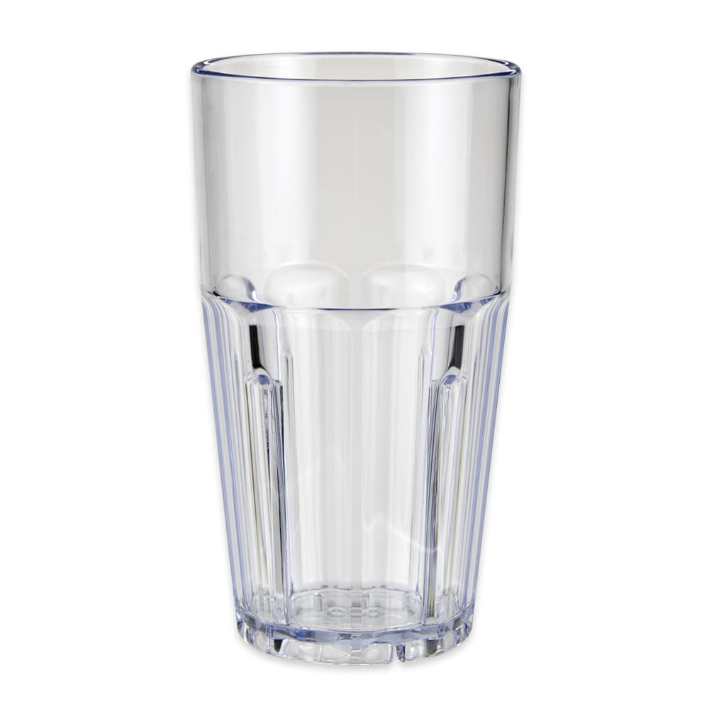 GET 9916-1-CL 16 oz Beverage Tumbler, Plastic, Clear