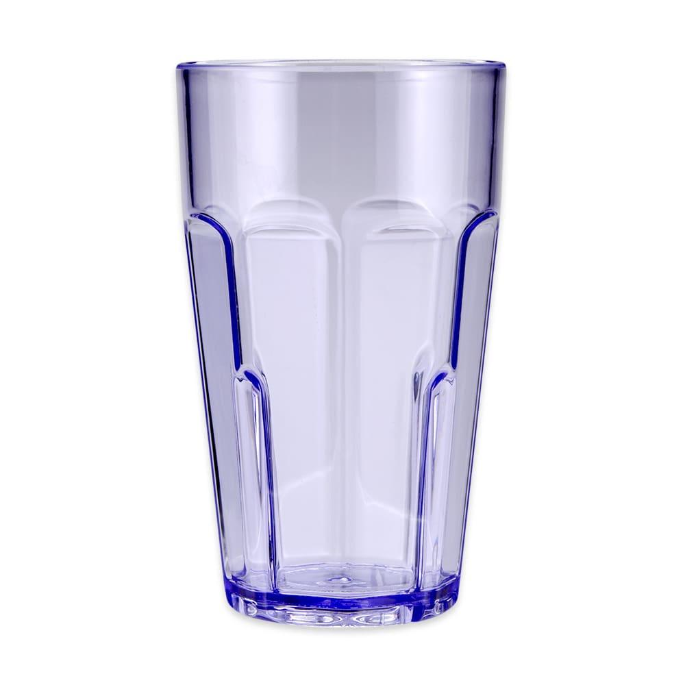 GET 9920-1-BL 20-oz Beverage Tumbler, Plastic, Blue