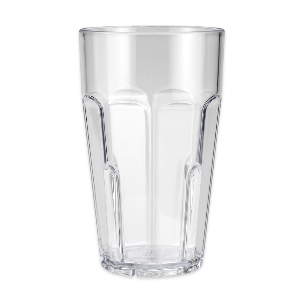 GET 9920-1-CL 20 oz Beverage Tumbler, Plastic, Clear
