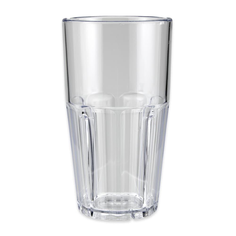 GET 9922-1-CL 22 oz Beverage Tumbler, Plastic, Clear