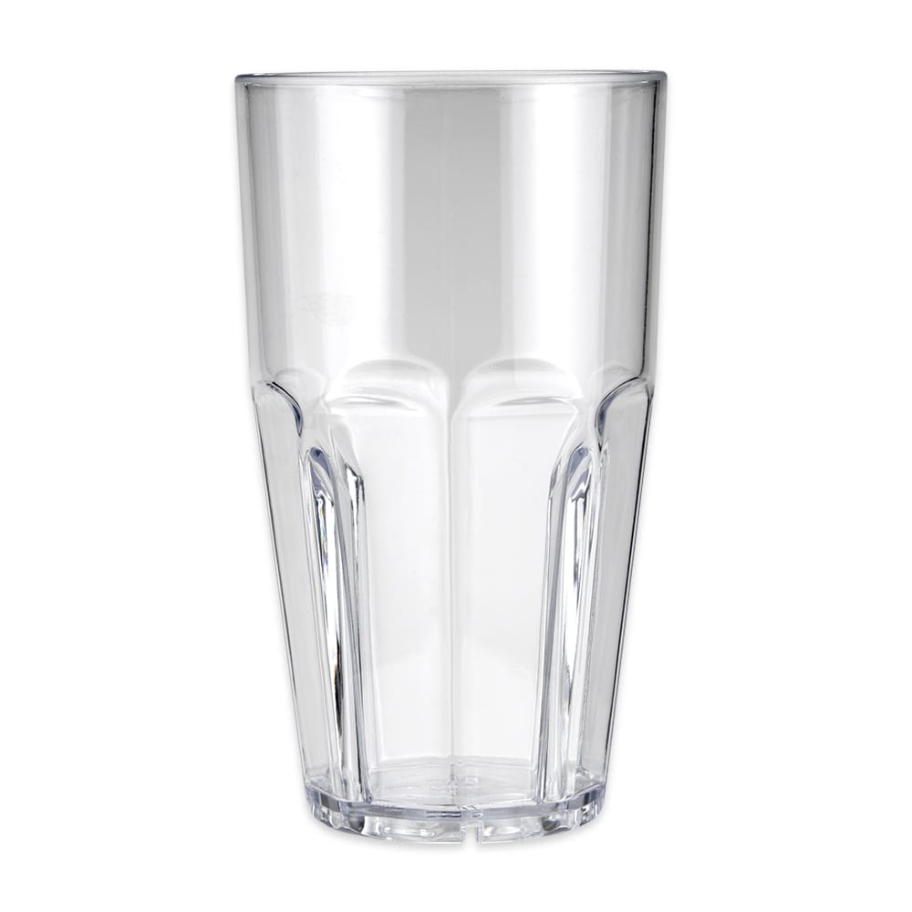 GET 9932-1-CL 32-oz Beverage Tumbler, Plastic, Clear