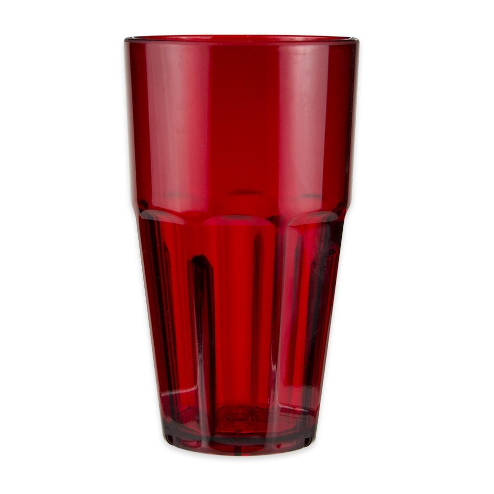 GET 9932-1-R 32-oz Beverage Tumbler, Plastic, Red