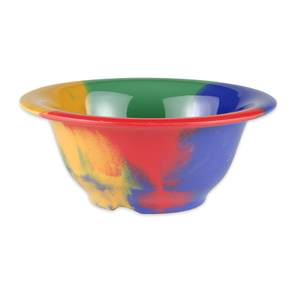 "GET B-105-CE 5.5"" Round Cereal Bowl w/ 10-oz Capacity, Melamine, Multi-Colored"