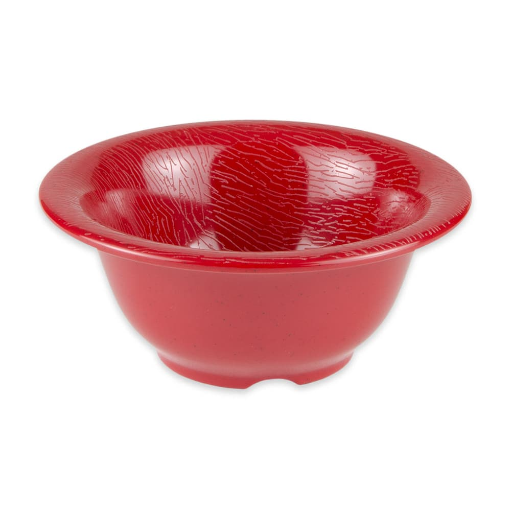 "GET B-105-EW-R 5.5"" Round Cereal Bowl w/ 10-oz Capacity, Melamine, Red"