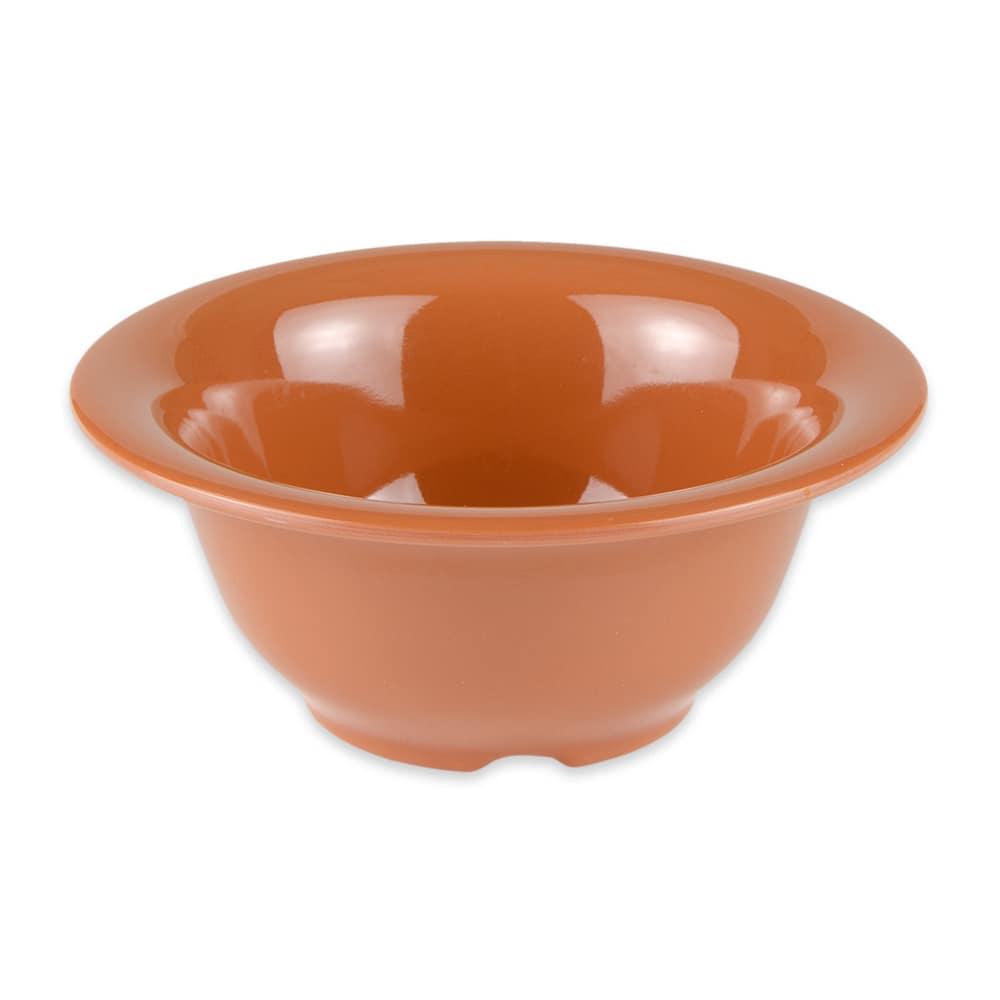 "GET B-105-PK 5.5"" Round Cereal Bowl w/ 10-oz Capacity, Melamine, Orange"