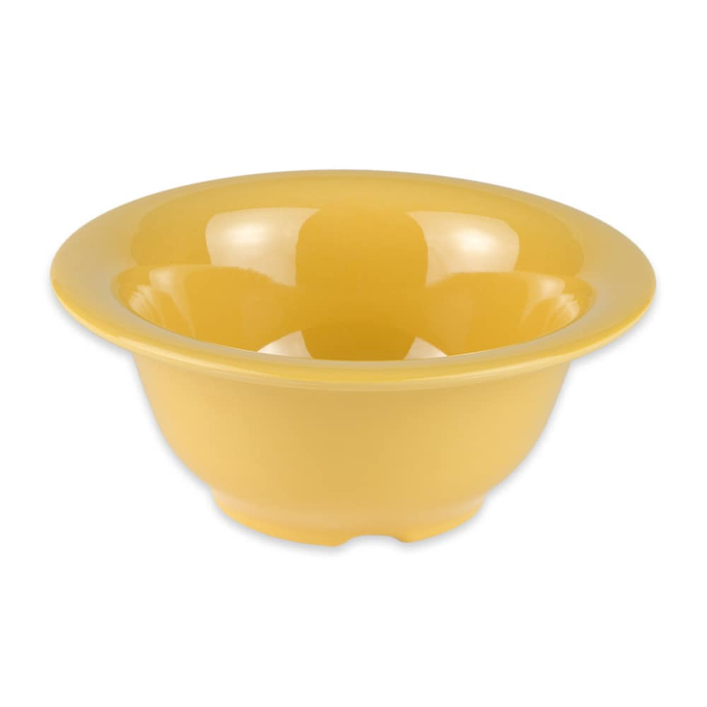 "GET B-105-TY 5.5"" Round Cereal Bowl w/ 10 oz Capacity, Melamine, Yellow"