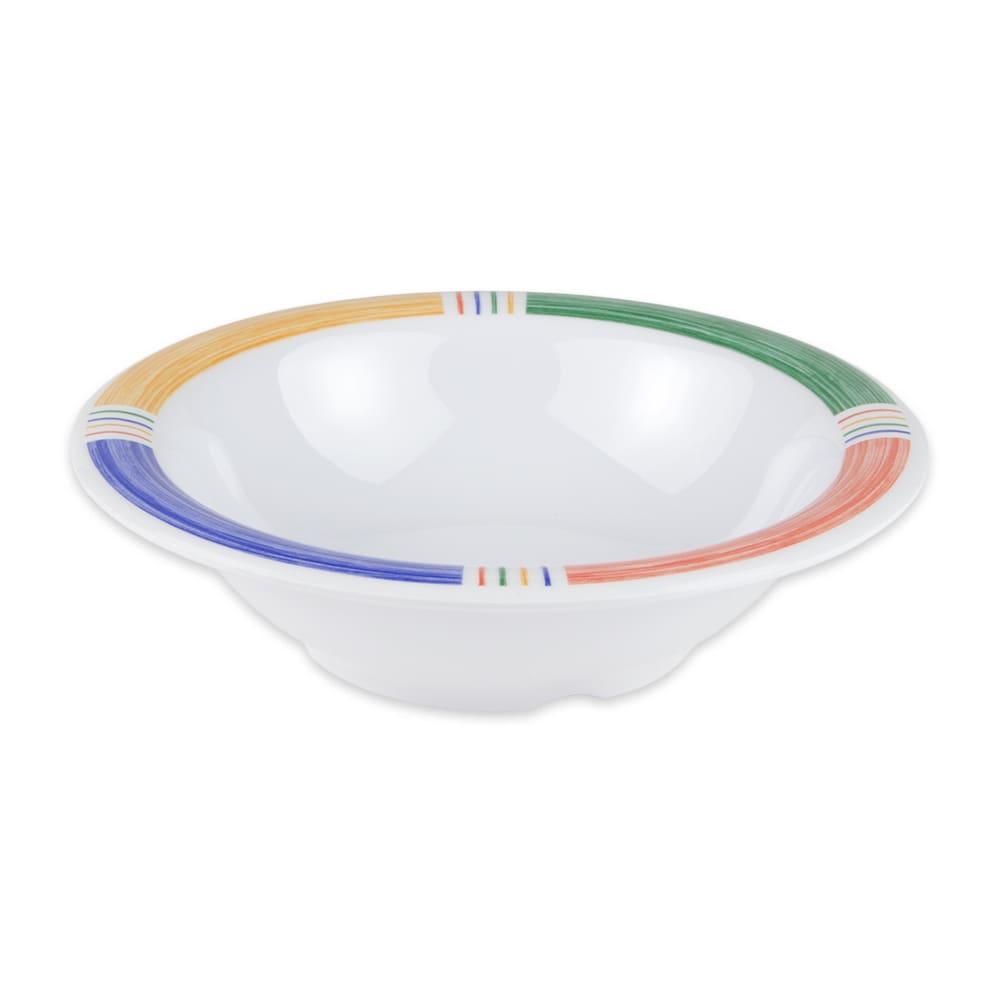 "GET B-127-BA 7.25"" Round Salad Soup Bowl w/ 12 oz Capacity, Melamine, White"