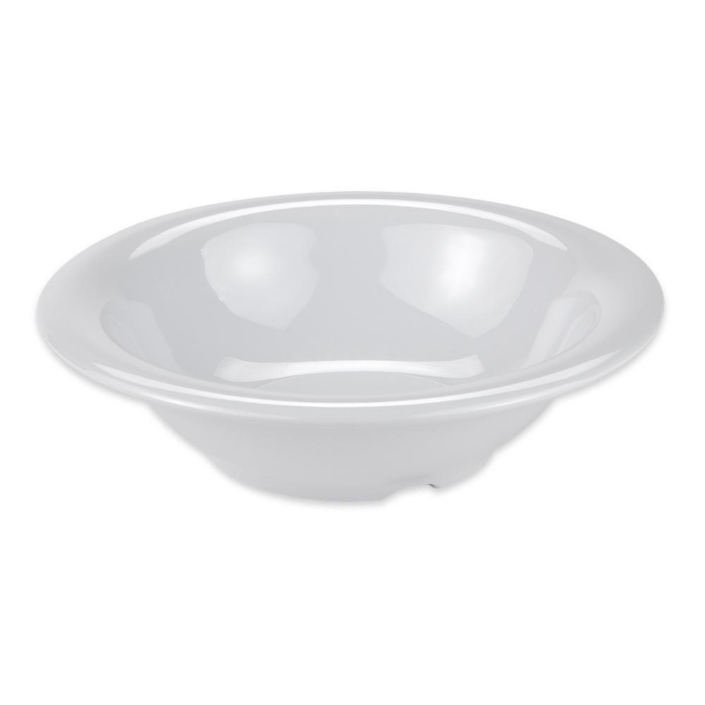 "GET B-127-DW 7.25"" Round Salad Soup Bowl w/ 12-oz Capacity, Melamine, White"