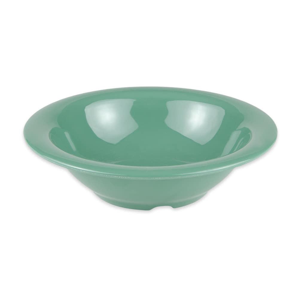 "GET B-127-FG 7.25"" Round Salad Soup Bowl w/ 12-oz Capacity, Melamine, Green"