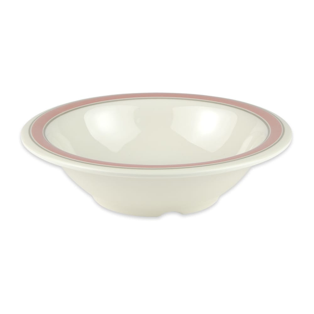 "GET B-127-OX 7.25"" Round Salad Soup Bowl w/ 12-oz Capacity, Melamine, White"