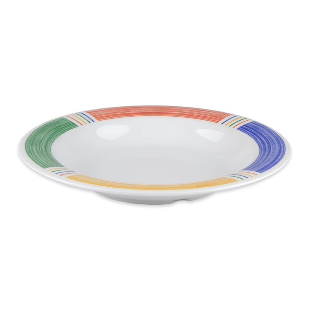 "GET B-139-BA 9.25"" Soup Salad Bowl w/ 13-oz Capacity, Melamine, White"