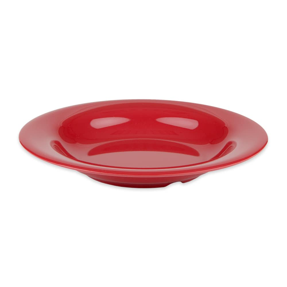 "GET B-139-CR 9.25"" Round Pasta Bowl w/ 13-oz Capacity, Melamine, Red"