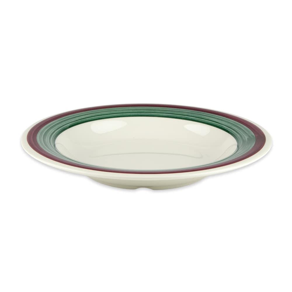 "GET B-139-PO 9.25"" Round Pasta Bowl w/ 13-oz Capacity, Melamine, White"