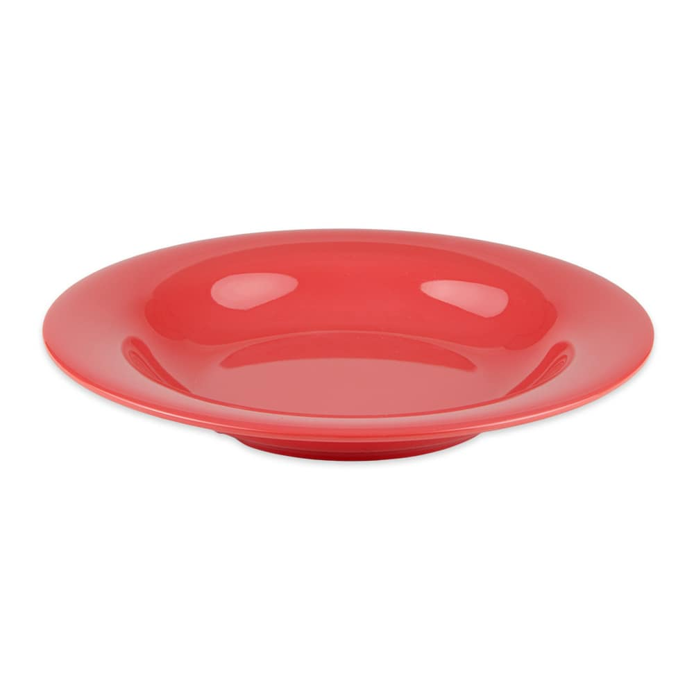 "GET B-139-RO 9.25"" Round Pasta Bowl w/ 13-oz Capacity, Melamine, Orange"