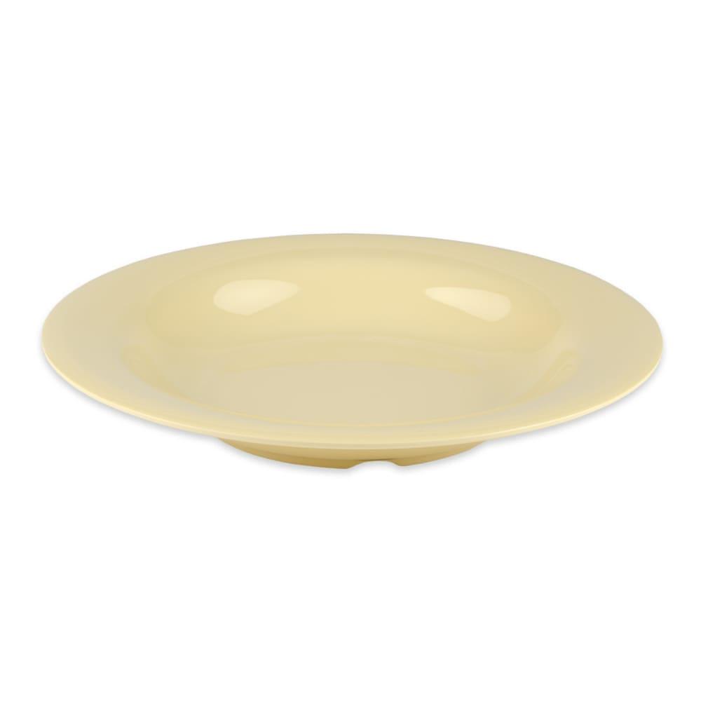 "GET B-139-SQ 9.25"" Round Pasta Bowl w/ 13-oz Capacity, Melamine, Orange"