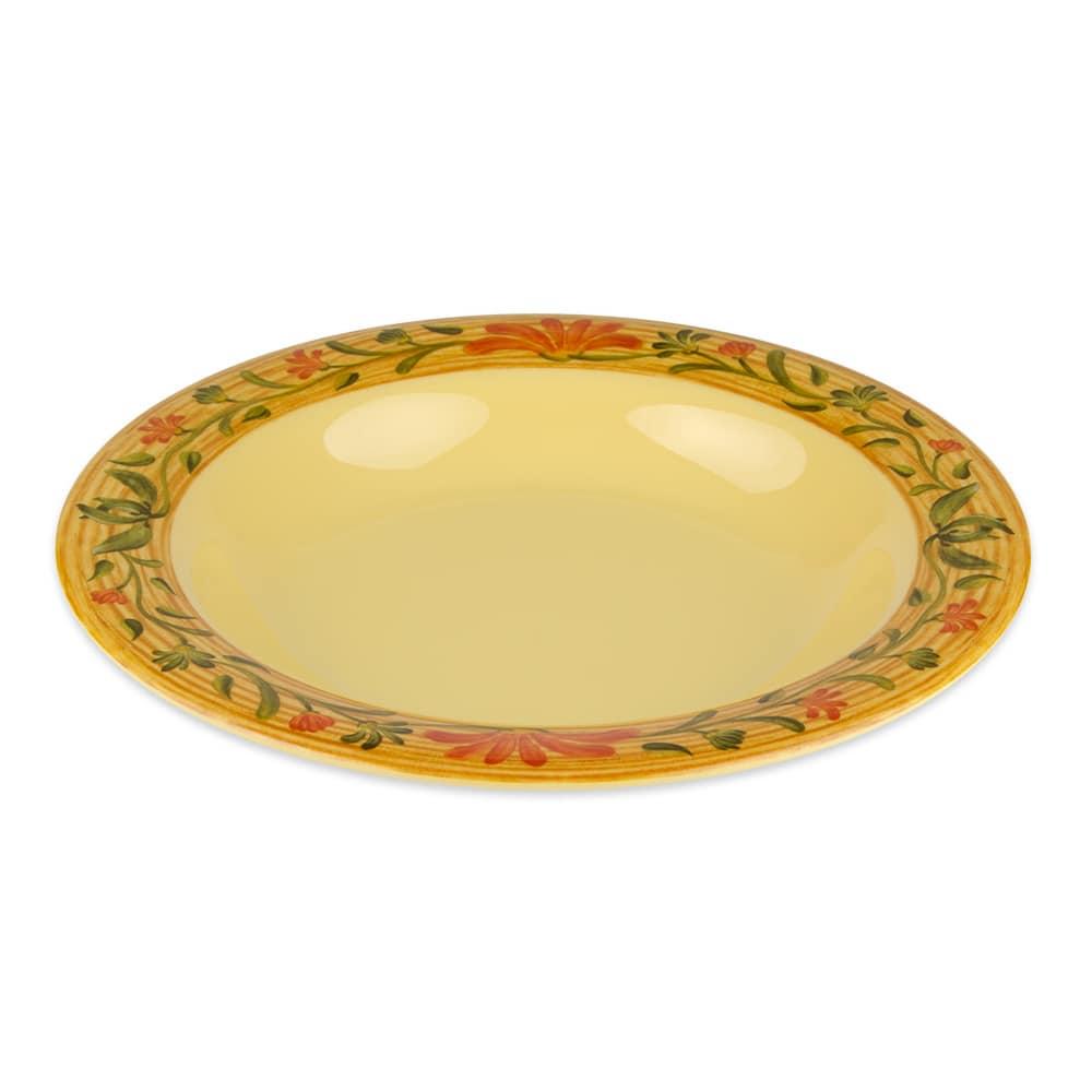"GET B-139-VN 9.25"" Round Pasta Bowl w/ 13 oz Capacity, Yellow"