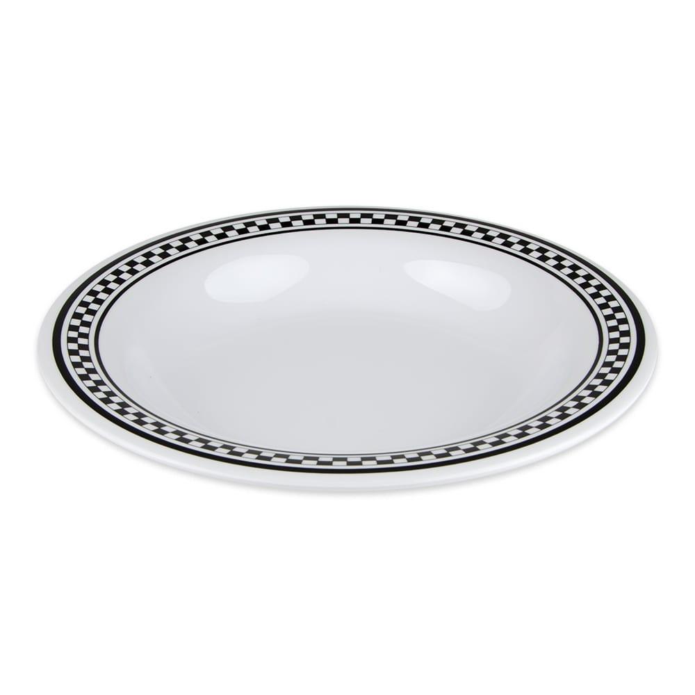"GET B-139-X 9.25"" Round Pasta Bowl w/ 13-oz Capacity, Melamine, White"