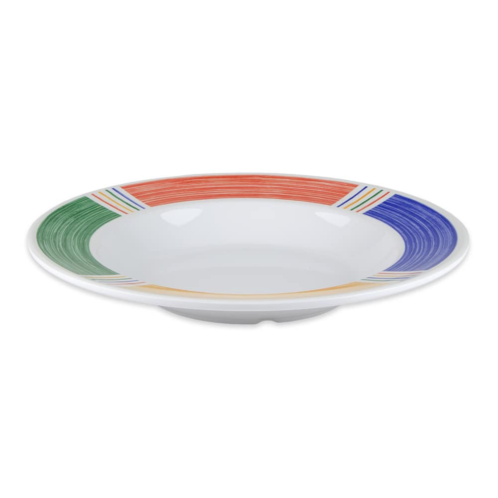 "GET B-1611-BA 11.25"" Round Pasta Bowl w/ 16 oz Capacity, Melamine, White"