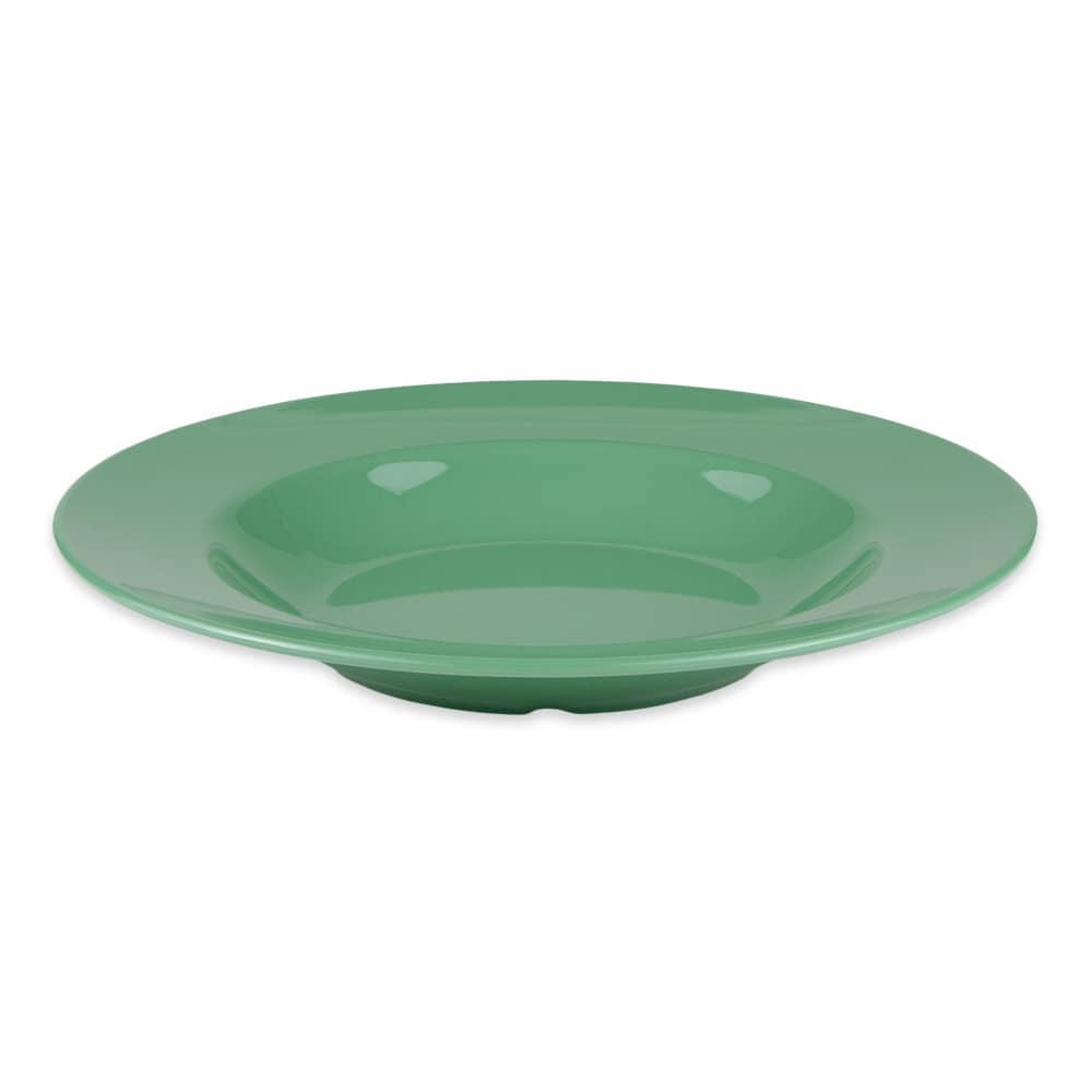 "GET B-1611-FG 11.25"" Round Pasta Bowl w/ 16-oz Capacity, Melamine, Green"