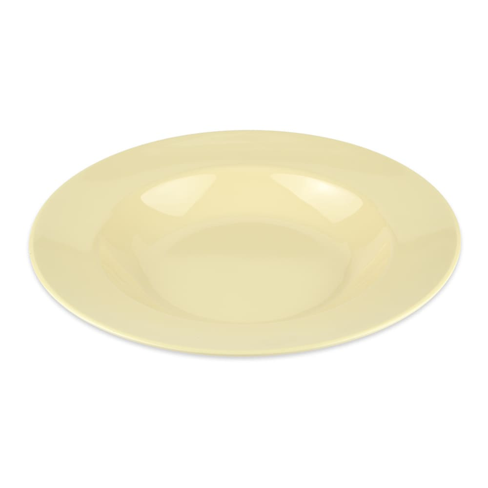 "GET B-1611-SQ 11.25"" Round Pasta Bowl w/ 16-oz Capacity, Melamine, Yellow"