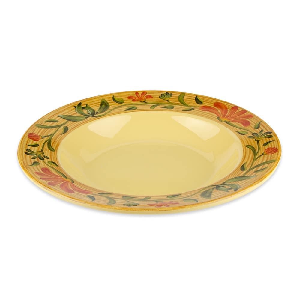 "GET B-1611-VN 11.25"" Round Pasta Bowl w/ 16-oz Capacity, Melamine, Blue"