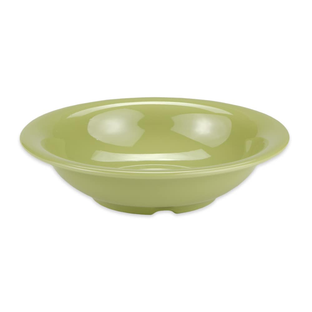 "GET B-167-AV 7.5"" Round Cereal Bowl w/ 16-oz Capacity, Melamine, Green"