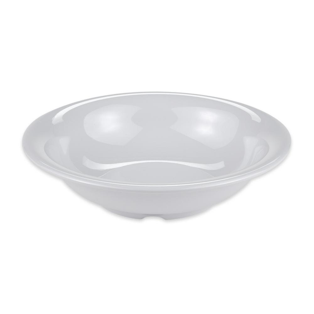 "GET B-167-DW 7.5"" Round Cereal Bowl w/ 16-oz Capacity, Melamine, White"