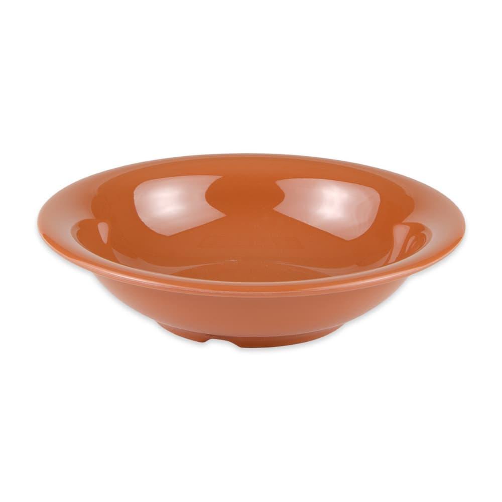 "GET B-167-PK 7.5"" Round Cereal Bowl w/ 16-oz Capacity, Melamine, Orange"
