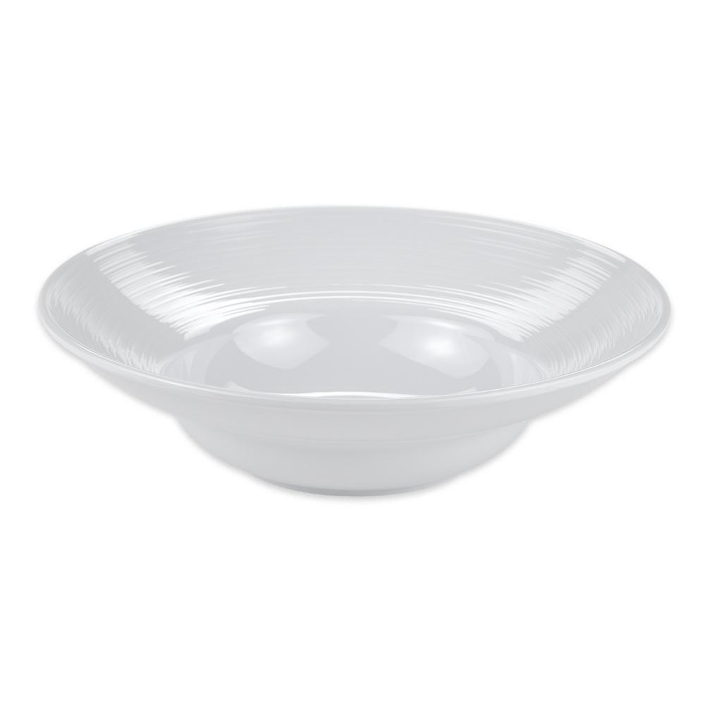 """GET B-16-MN-W 10"""" Round Soup Bowl w/ 16-oz Capacity, Melamine, White"""