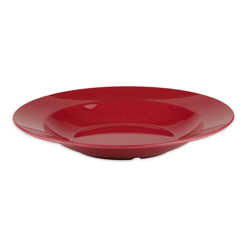 "GET B-2412-CR 12.5"" Round Pasta Bowl w/ 24-oz Capacity, Melamine, Red"