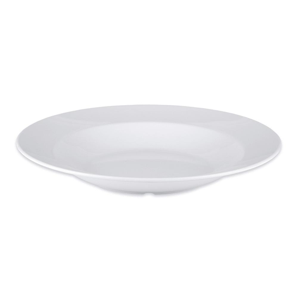 "GET B-2412-DW 12.5"" Round Pasta Bowl w/ 24 oz Capacity, Melamine, White"
