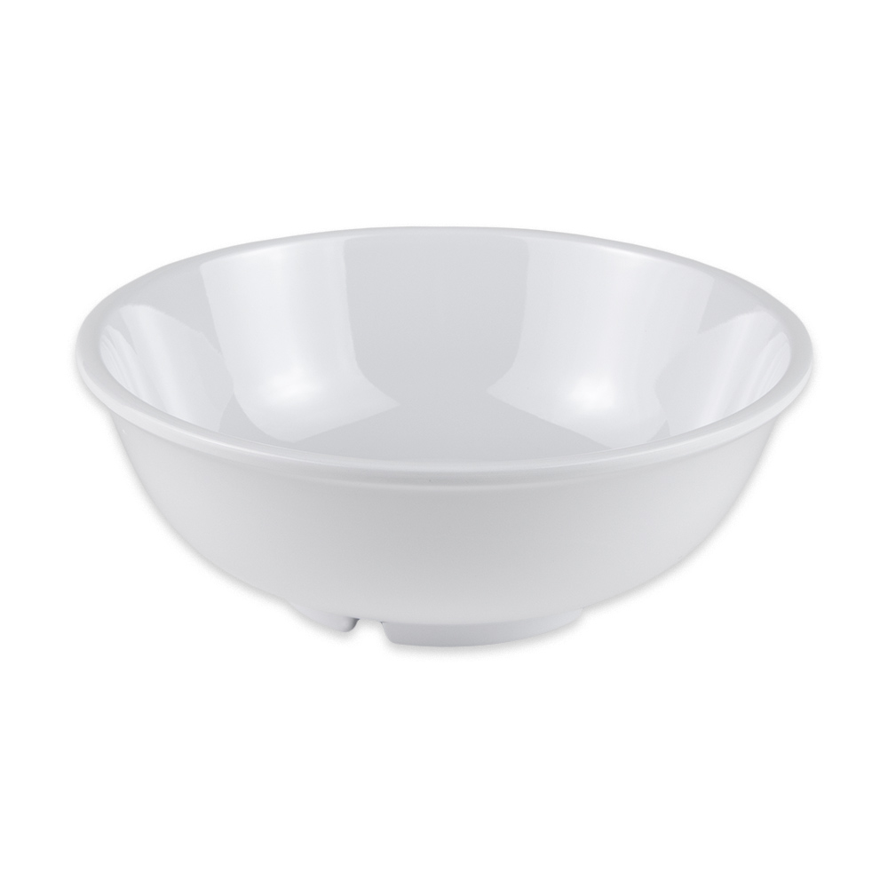 "GET B-24-DW 7.5"" Round Pasta Bowl w/ 24-oz Capacity, Melamine, Ivory"