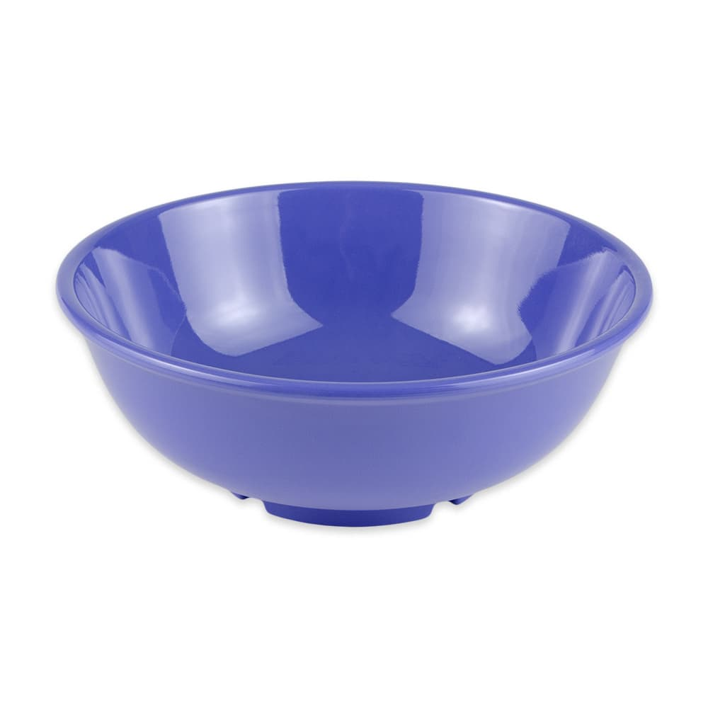 "GET B-24-PB 7.5"" Round Pasta Bowl w/ 24-oz Capacity, Melamine, Blue"