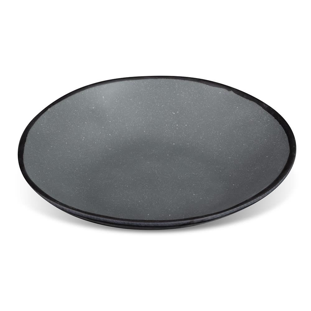 GET B-420-GR 1.3 qt Pottery Market™ Salad Bowl - Melamine, Speckled Gray