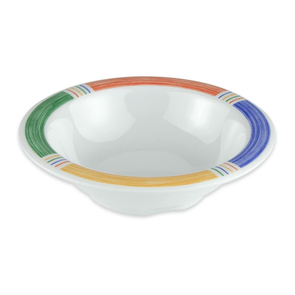 "GET B-454-BA 4.75"" Round Cereal Bowl w/ 4.5-oz Capacity, Melamine, White"