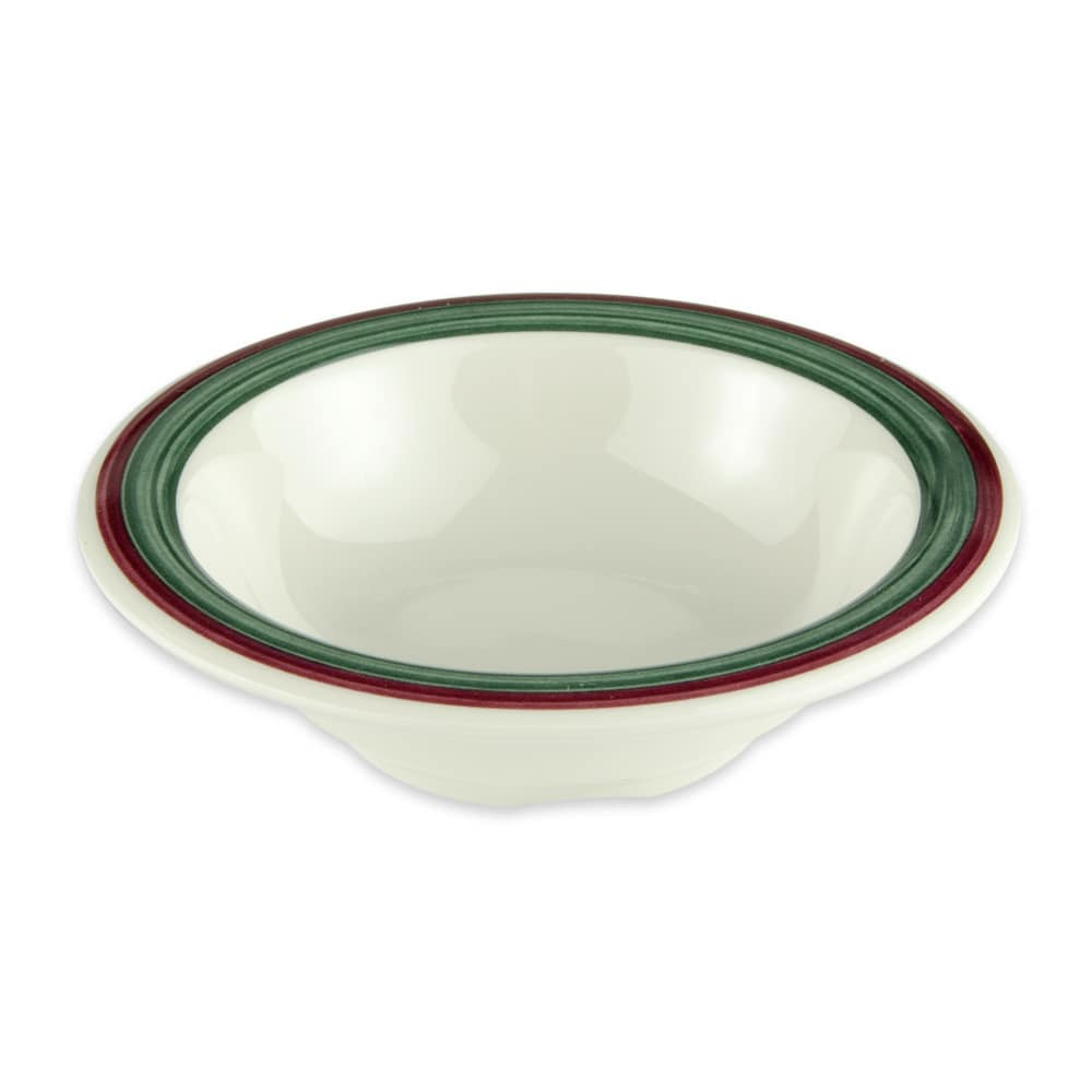 "GET B-454-PO 4.75"" Round Cereal Bowl w/ 4.5 oz Capacity, Melamine, White"