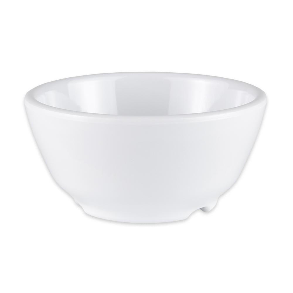 "GET B-45-DW 4.5"" Round Soup Bowl w/ 10-oz Capacity, Melamine, White"