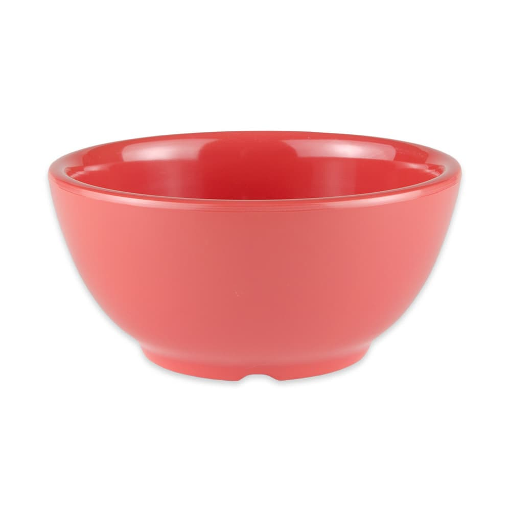"GET B-525-RO 5.25"" Round Soup Bowl w/ 16 oz Capacity, Melamine, Orange"