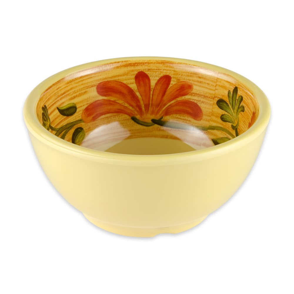 "GET B-525-VN 5.25"" Round Soup Bowl w/ 16-oz Capacity, Melamine, Yellow"