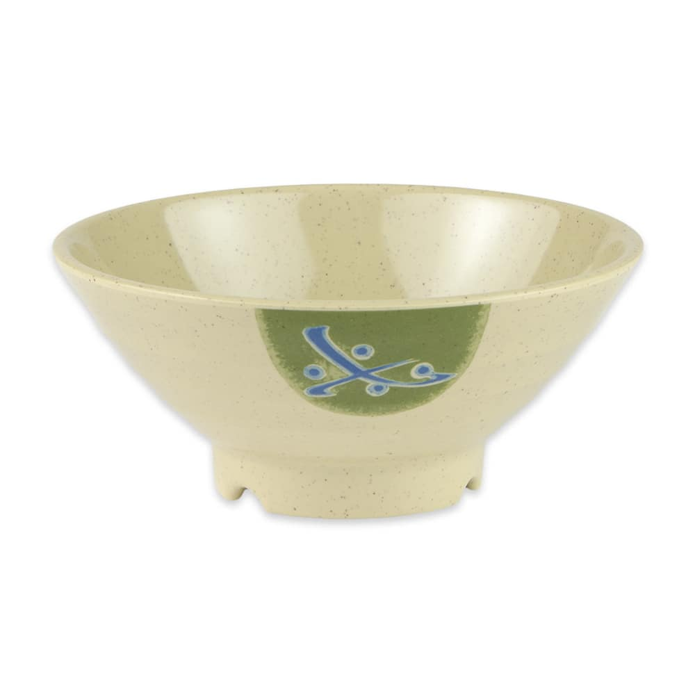 "GET B-643-TD 6.75"" Round Pasta Bowl w/ 20-oz Capacity, Melamine, Brown"