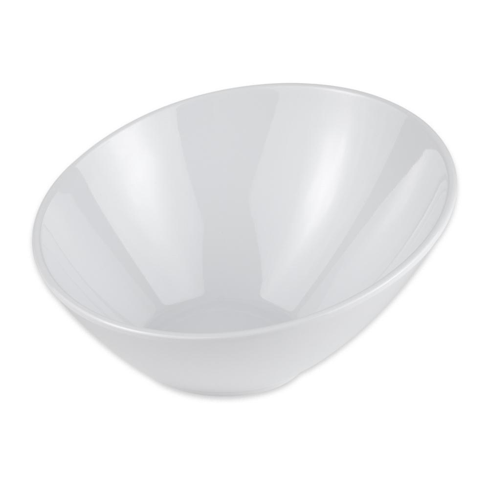 """GET B-782-W 7.3"""" Round Salad Bowl w/ 14 oz Capacity, Melamine, White"""