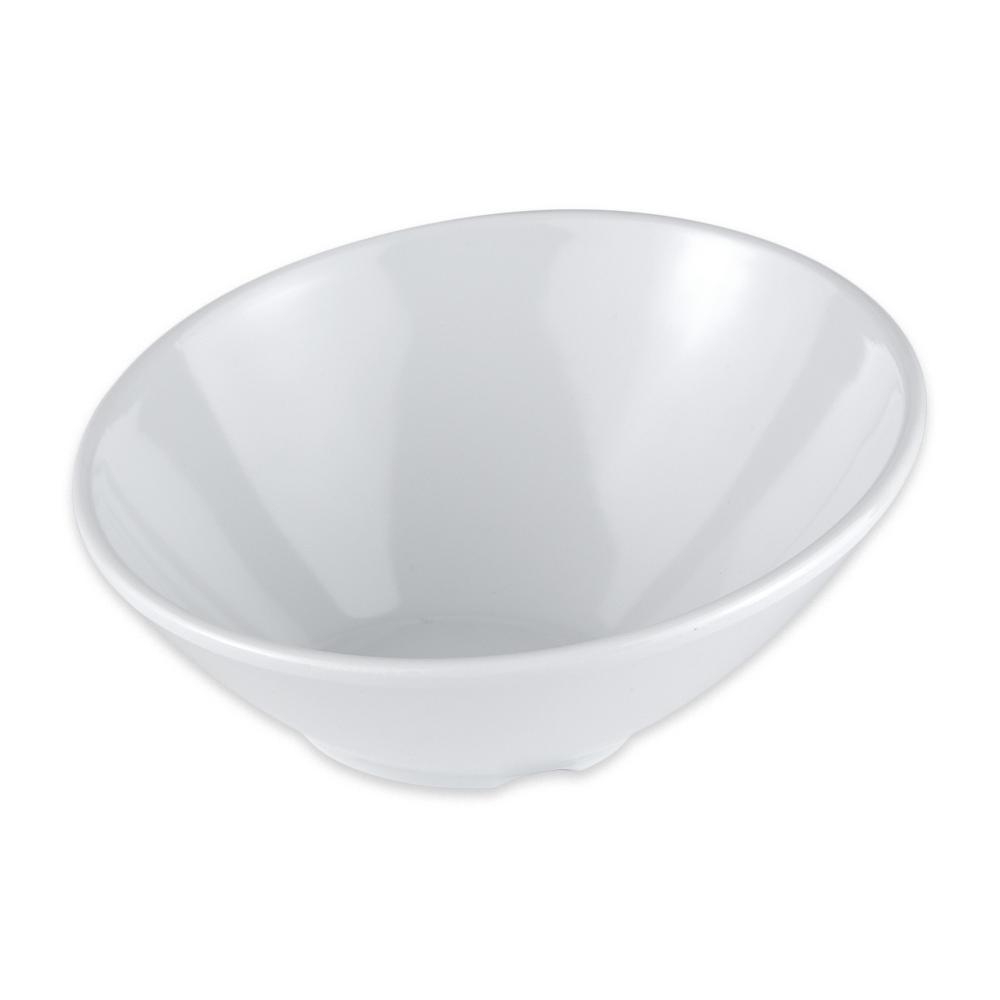 "GET B-784-W 4.75"" Round Dessert Bowl w/ 5.5-oz Capacity, Melamine, White"