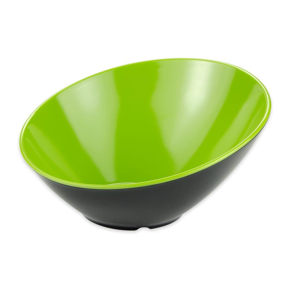 "GET B-788-G/BK 8"" Round Dessert Bowl w/ 16-oz Capacity, Melamine, Green/Black"
