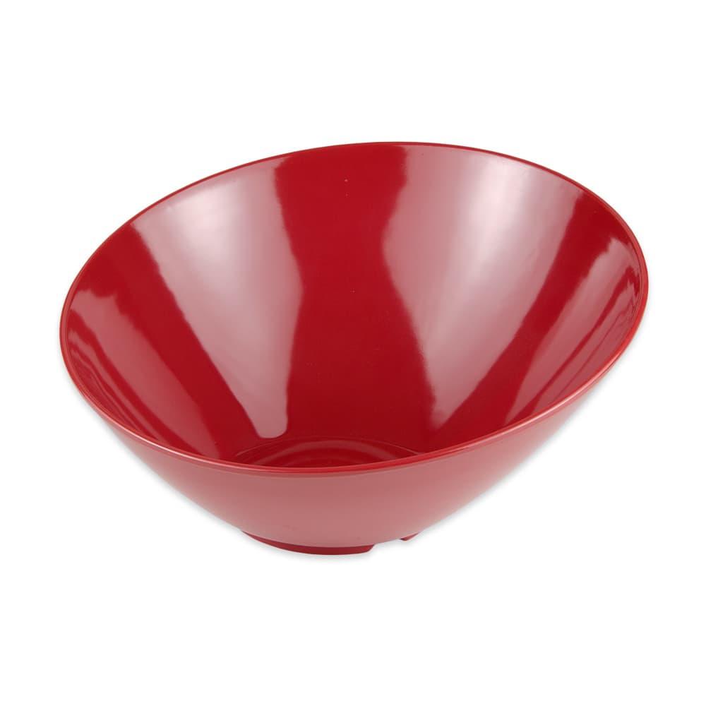 "GET B-789-CR 10"" Round Pasta Bowl w/ 1.1-qt Capacity, Melamine, Red"