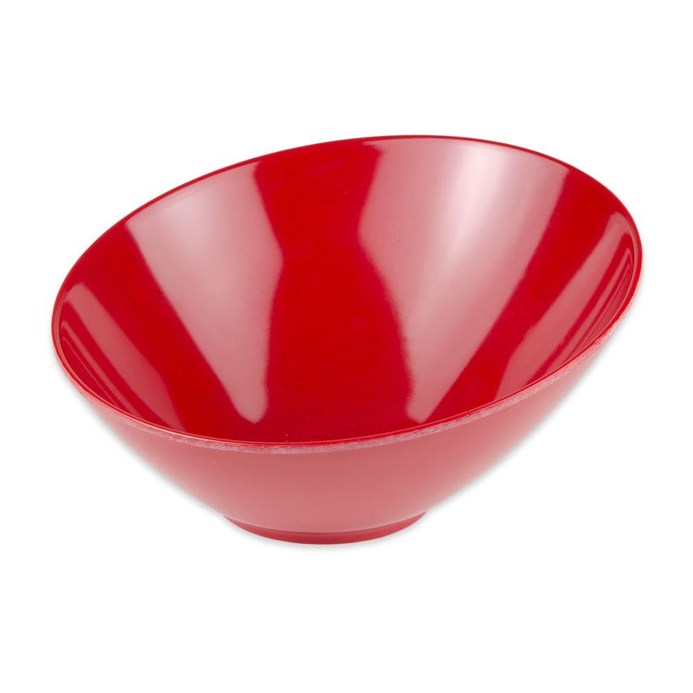 "GET B-789-RSP 10"" Round Pasta Bowl w/ 1.1 qt Capacity, Melamine, Red"