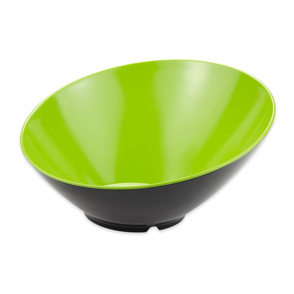 "GET B-790-G/BK 12"" Round Pasta Bowl w/ 1.9-qt Capacity, Melamine, Green/Black"